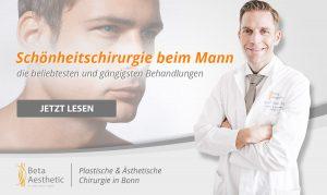 Schönheitschirurgie beim Mann